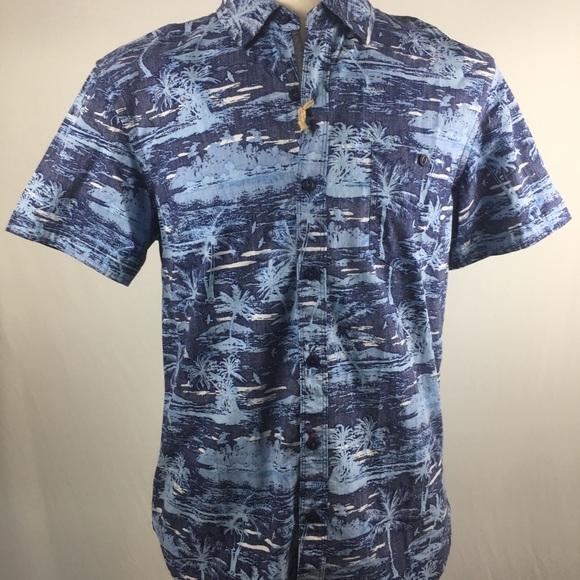 ae2bbd6d MBX Shirts | 29 Original Denim Hawaiian Shirt Medium | Poshmark
